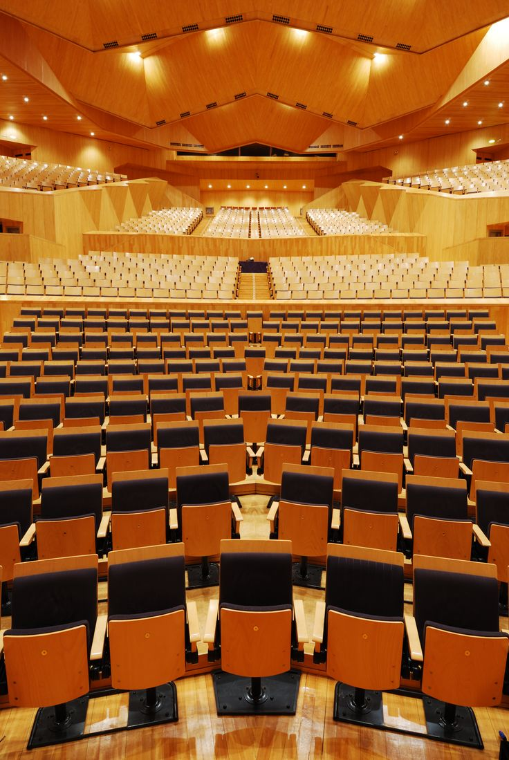 Sala Mozart. Auditorio y Palacio de Congresos de Zaragoza. VAHÖ·Estudio de fotografía.