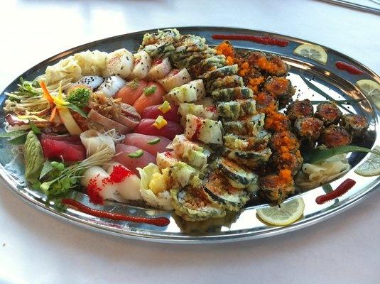 Wabi sabi style sushi platter wabi sabi beautiful for Cuisine wabi sabi