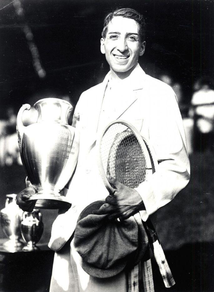 Lacoste Jean Rene Lacoste French Open 1925