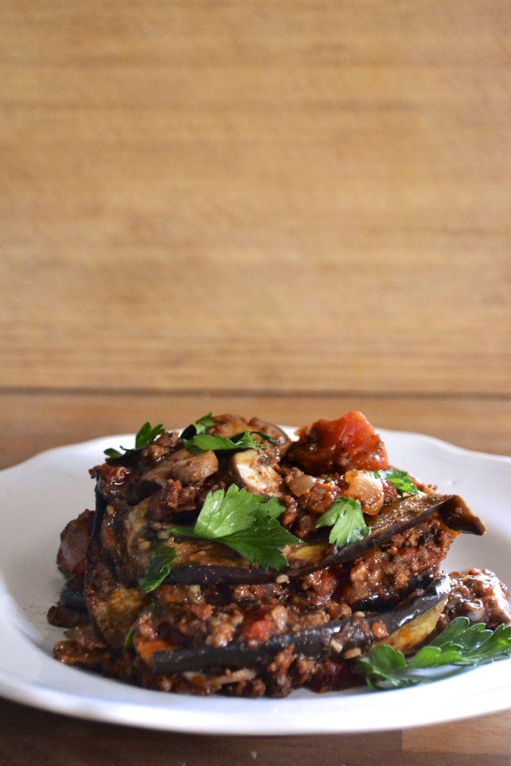 Paleo Eggplant Lasagna (Grain Free, Gluten Free, Dairy Free