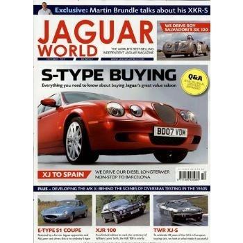 CLASSIC JAGUAR WORLD, ein erfolgreiches Automagazin für alle Liebhaber des Jaguar, erscheint alle zwei Monate neu und stellt dem interessierten Leser auf über 100 Seiten die verschiedenen Jaguar-Modelle ausführlich vor.