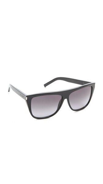 Saint Laurent Flat Top Sunglasses