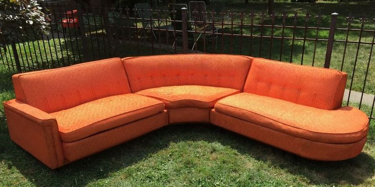 116 Best Vintage Sectionals Images On Pinterest