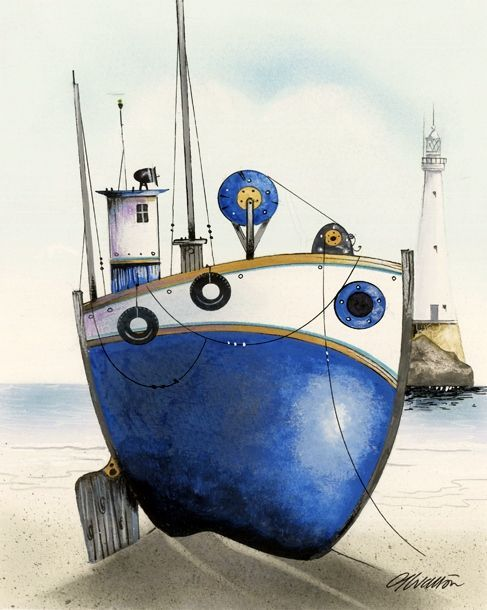 The Blue Tub by Gary Walton