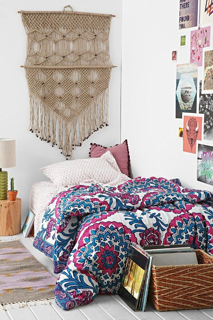 Magical thinking wood block medallion bed in a bag snooze set for the home pinterest urban - Cute bed sets tumblr ...