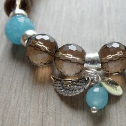 Essence Bracelets - Healing Inspired Jewelry. Bracelet of Faith ♡. Energy healing bracelets. Natural gemstones. Sterling silver. Handmade with love. http://www.essencebracelets.com/product/faith/