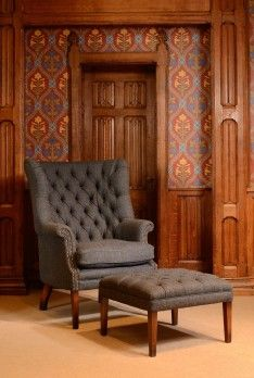 40 Best Images About Harris Tweed Chairs On Pinterest
