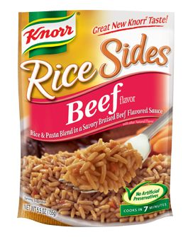Knorr 174 Rice Sides Beef Rice Sides Pinterest