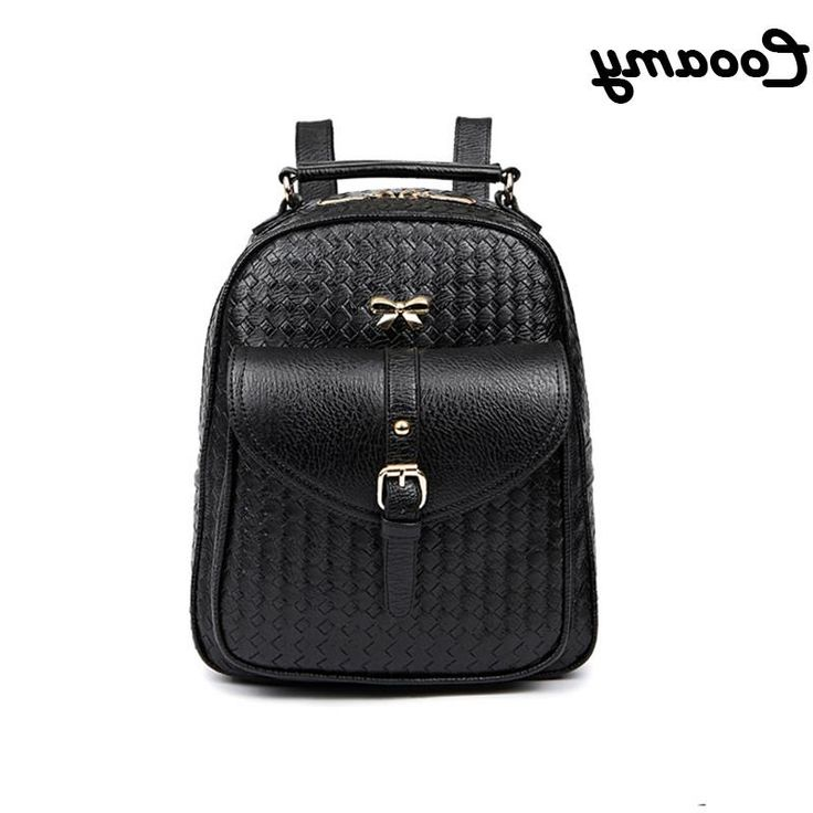 26.59$  Watch here - https://alitems.com/g/1e8d114494b01f4c715516525dc3e8/?i=5&ulp=https%3A%2F%2Fwww.aliexpress.com%2Fitem%2Fwomen-s-backpack-PU-leather-Women-Backpack-for-teenage-girls-black-School-Bags-for-ladies-briefcase%2F32704514396.html - women's backpack PU leather Women Backpack for teenage girls black School Bags for ladies schoolbag Shoulder youth Girls Bookbag