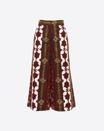 Are you looking for Valentino Printed Panama Cotton Pants? Find out all the details at Valentino Online Boutique and shop designer icons to wear.