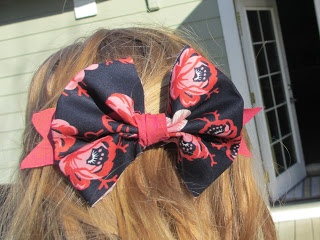 Crafts After College: No Sew Bow