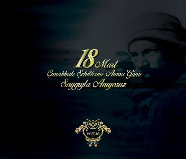 Çanakkale Zaferi'nin 100. yılında şehitlerimizi saygıyla anıyoruz. #CanakkaleGecilmez #SehitlerimiziSaygıylaAnıyoruz
