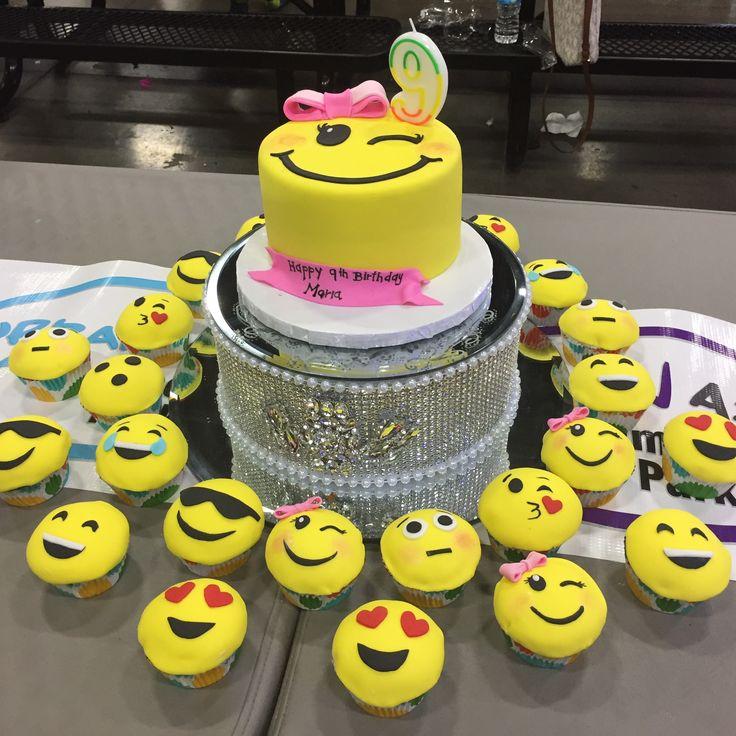 Emoji Birthday Cake For Girl 😊 Emoji Birthday Cake