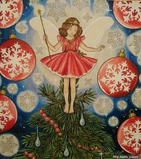 Buch: The flower fairies Illustratorin: Cicely M.Barker Von mir koloriert