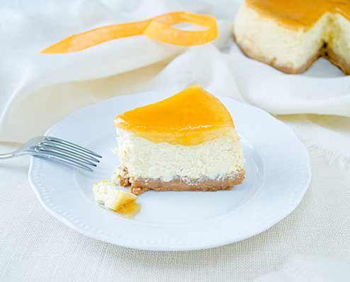 Orange cheesecake | Recipe