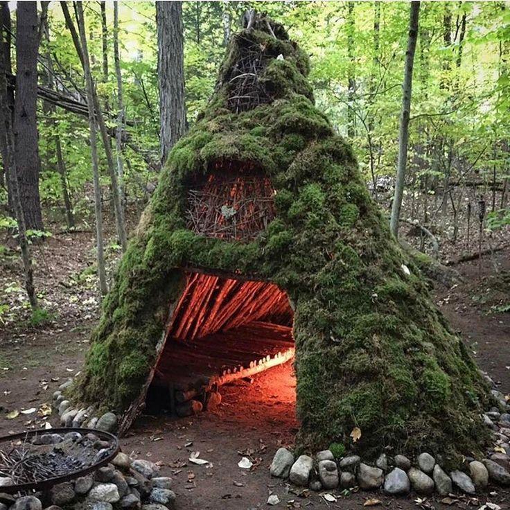 Survival Skills: 969 Best Bushcraft Shelters Images On Pinterest