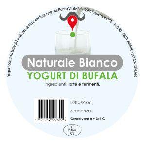 Yogurt di Bufala, gusto Naturale Bianco: http://www.puntovitale.net/shop/yogurt-di-latte-di-bufala/yogurt-bianco