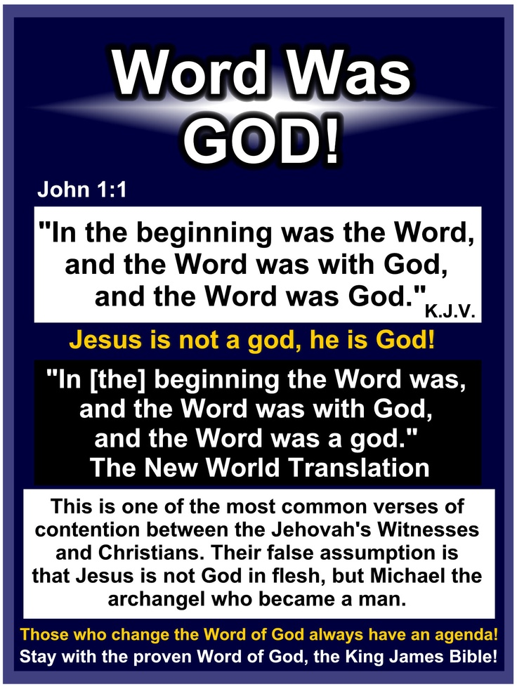 Get rid of Modern Versions that say Jesus is less than God! Get a King James Bible!