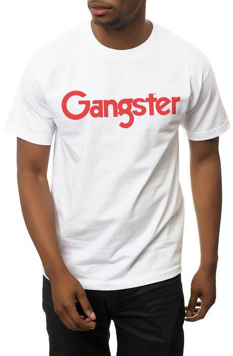 One Degree Tee Gangster MF White - Karmaloop.com