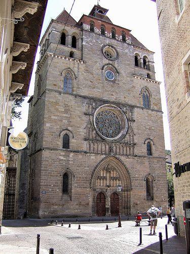 Cathédrale St-Etienne .Cahors (Lot) - Midi-Pyrénées