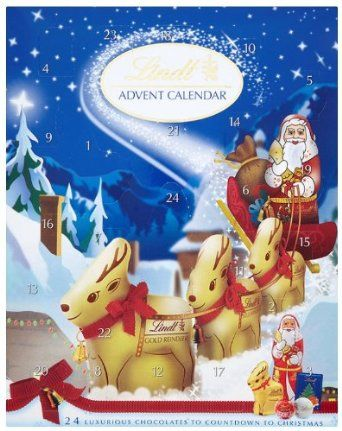Lindt Advent Calendar (Pack of 1): Amazon.co.uk: Grocery