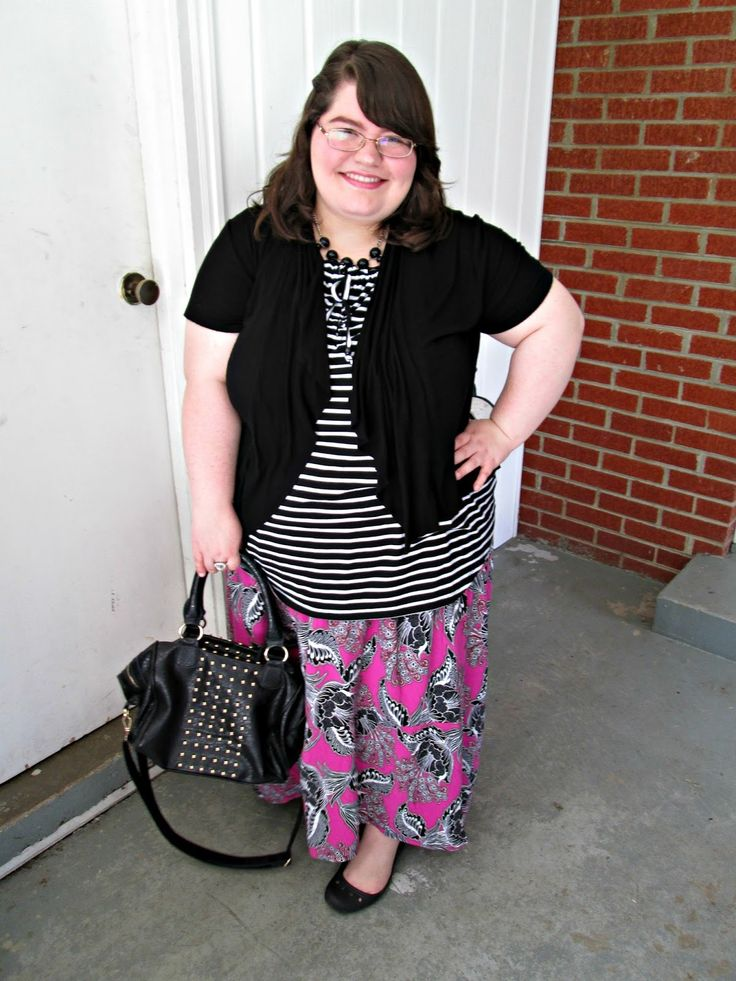 Unique Geek: Plus Size OOTD: Mixing Floral & Stripes #plussizefashion #plussizefashionblogger #plussizeoutfits #plussizeootd #plussize #mixingprints #floralandstripes: