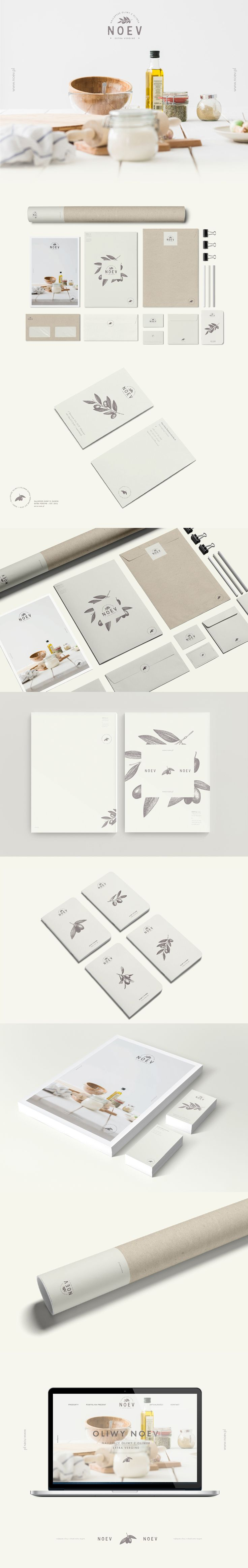 Branding for Noev - shop with best olive olis.