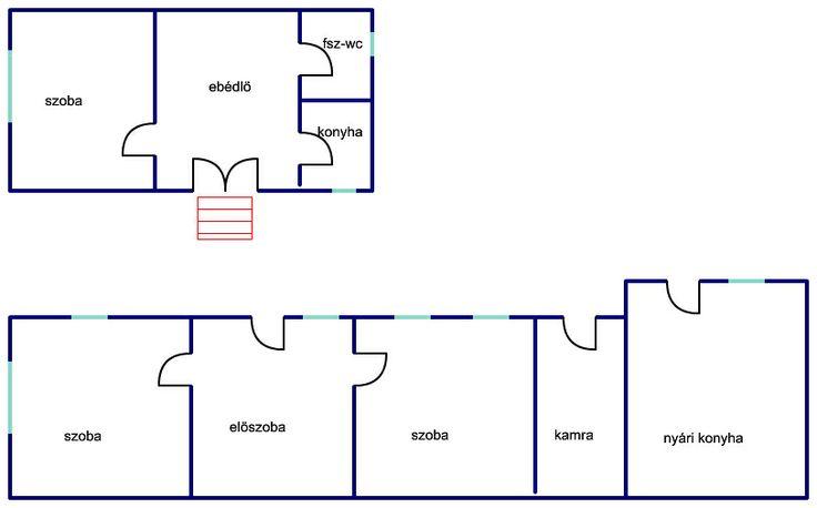 Régi, felújítandó palóc ház 3387 m2-es telken eladó. http://dunahousematraderecske.ingatlan.com/20871723