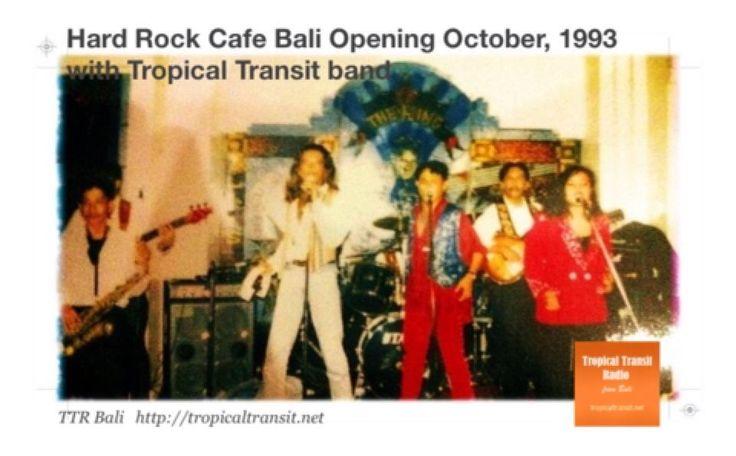 Hard Rock Cafe Bali Opening October 1993