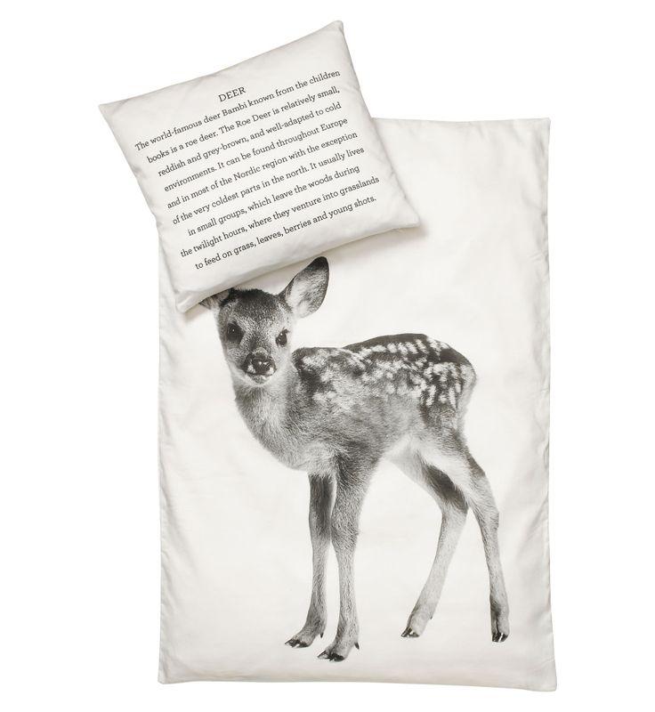 bedding set baby deer 70x100cm