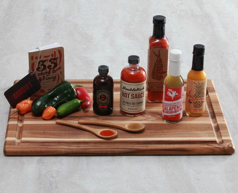 """America's best hot sauces."" @ Broquet"