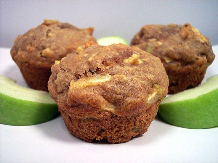 Az almás- diós muffin