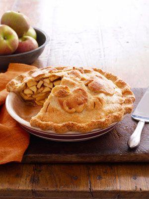 Double-Crust Apple Pie: Desserts, Piecrust, Apples Pies, Pies Crusts, Doublecrust Apples, Paper Dolls, Pies Recipes, Thanksgiving Recipes, Apple Pies