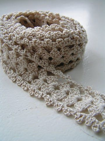 crocheted lace - may have this