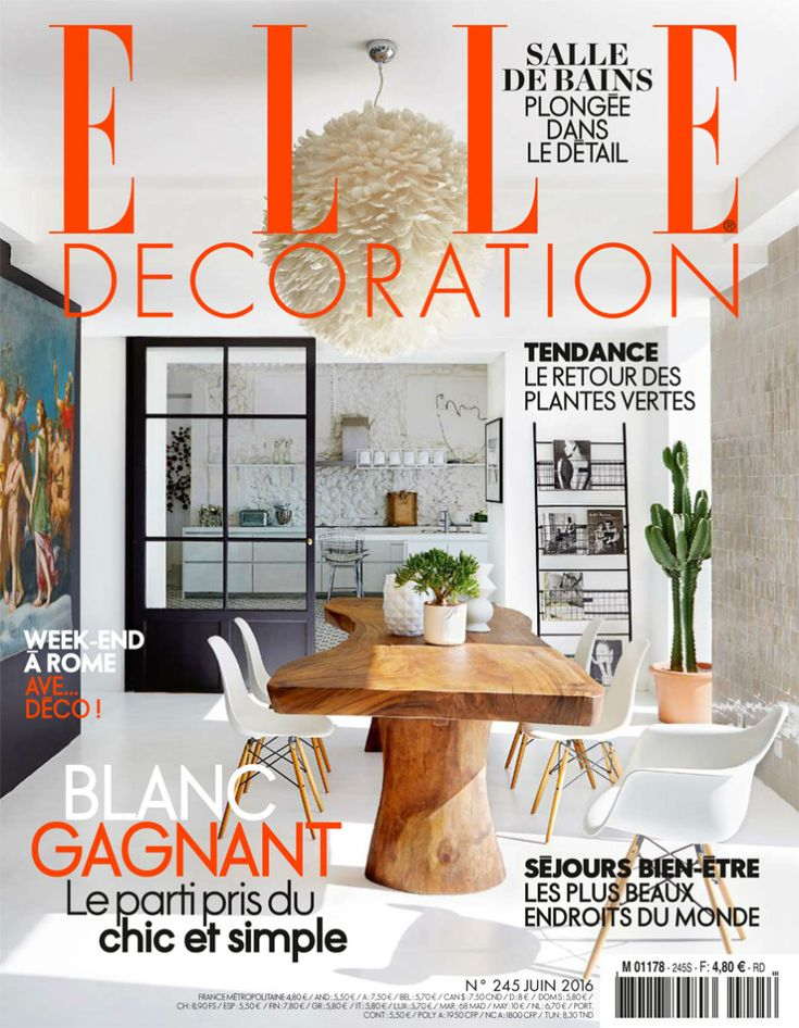 52 best elle decoration germany 2015 images on pinterest deutsch germany and decor for Best interior decorating magazines