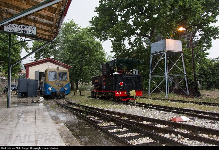 RailPictures.Net Photo: OSE Hellenic Railways ANCIENS ETAB CAIL at Kalavrita, Greece by Kantiris Nikos