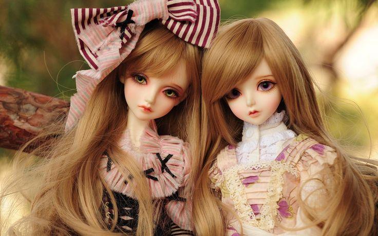Muñeca de juguete hermoso, fondo de pantalla chica de pelo rubio - 1920x1200