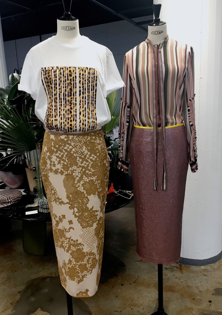 Sequins embroidery rosewood skirt and print embroidery skirt by www.icimaintenant.ch, Look by www.lesoirlejour.ch
