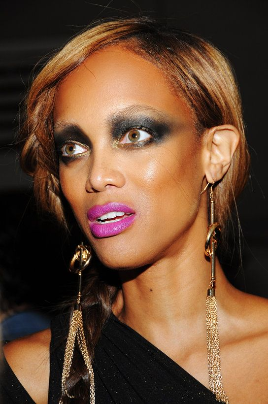 Dam Tyra Banks, your eyes are looking smoking. I wonder if she is using Instant Eye Lift 😏??  - #TyraBanks #CelebBeauty #Eyes #Face #EyeLift #EyeSerum #EyeCream #SensitiveCream #Moisturiser #FaceCream