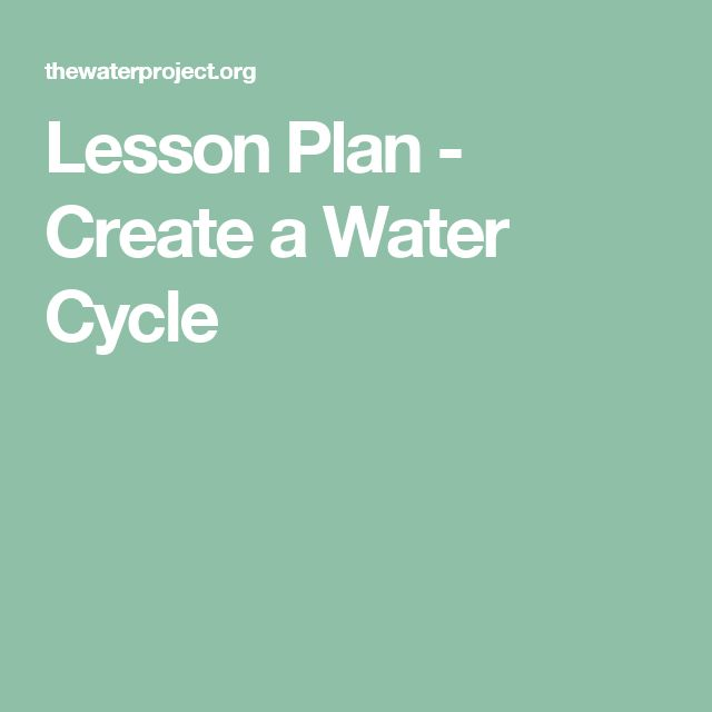 Printables Speech In Watercycl 1000 images about water cycle on pinterest science lesson plan create a cycle