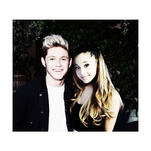Crackships Manips Pics Gifs Stuff ❤ liked on Polyvore featuring ariana grande, niall horan and ariana