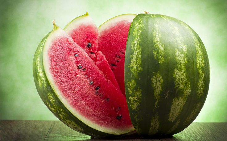 Watermelon – another useful low calorie product that contains vitamins A and C.#health #diet #strong #body