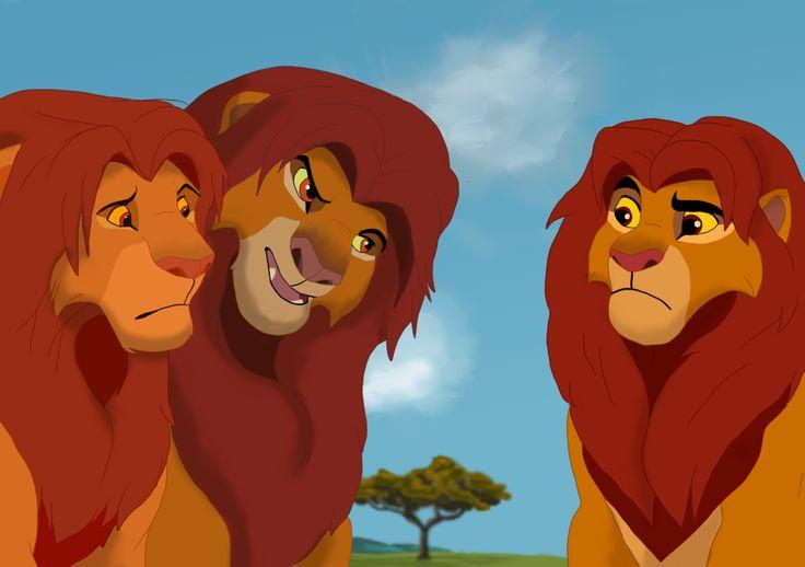 LOVE this of Simba! #TheLionKing #TheLionKingIISimba'sPride #TheLionGuard