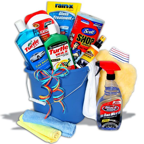 deluxe car wash bucket men s gift baskets pinterest buckets gifts and cars. Black Bedroom Furniture Sets. Home Design Ideas