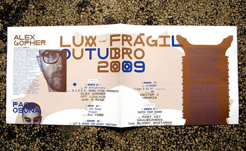 LUXFRAGIL – FlyerOUT'09