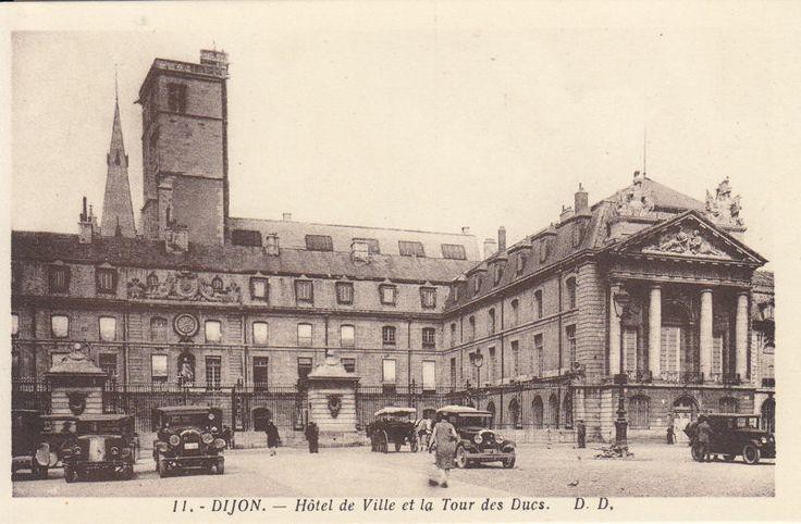 DIJON city hall 1920