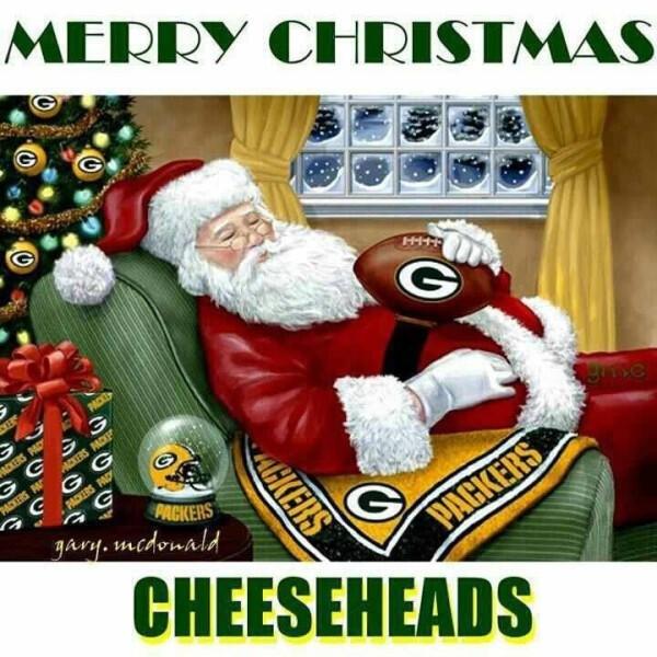 Merry Christmas Cheeseheads