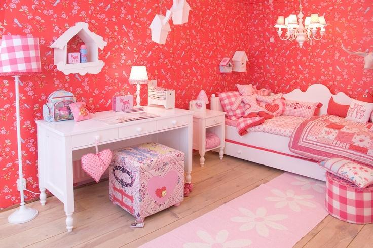 Mooie kamer zal ik ook wel willen hebben leuke idee n voor huis pinterest kinderkamers - Schattige meisje slaapkamer ...