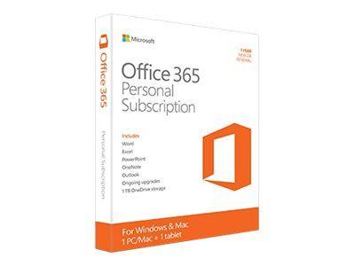 MS ESD Office 365 Personal 32/64 AllLngSub PKLic 1YR Online Eurozone C2R NR