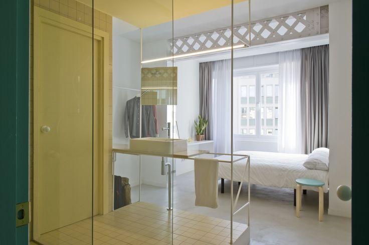 ANTES Y DESPUÉS- Decorabien.com #baño #dormitorio #habitación #decoración #arquitectura